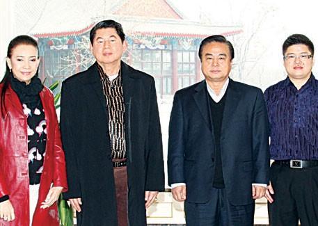 宗叻警上将应邀前往天津市考察武长顺局长及张扬总裁热情接待并陪同参访