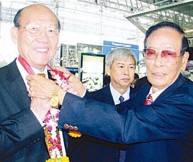 陈汉士率领九属会馆首长前往昆明 出席东盟华商投资西南项目推介会