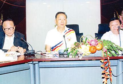 泰国中国和统会将组团参访黑龙江省王志民会长主持会议安排组团及行程相关事宜