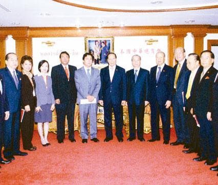 CIMB THAI银行高层访问中总吴宏丰李光隆张朝江陈汉士热情接待访问团