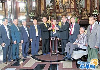 泰国德教慈善总会新第九届理事会成立就职 紫素阁阁长范清松接领印信就任理事长国内外德教会代表出席就职典礼致表祝贺