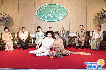 许金汉君与努差帕小姐缔结良缘 恭请国防部长巴逸上将主持婚礼