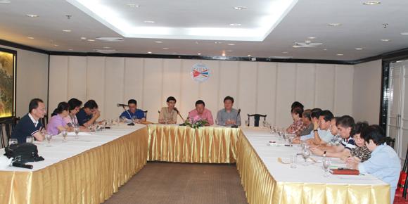 2011年3月12日泰国旅游同业公会召开第四届理事会第七次会议