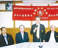 陈万平主持道德善堂董事会议会上决定八月廿一日至廿二日举办盂兰胜会