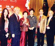 华文民校协会参加世界华文教育大会泰国教师公会罗宗正主席率领代表出席