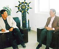 文化带动经济合作共创双赢泰中经济贸易交流中心与中国最大节电设备公司携手共进泰国节能市场