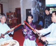 泰国黄氏大宗祠隆重举行冬祭谒祖大典