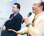华侨中医院把服务民众放在首位每周三上午在是乐园举行义诊及每月举办「健康讲座」