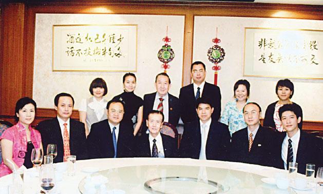 工商总会欢宴东盟博览会代表团郑继烈主席与农融副秘书长一行亲切会谈