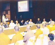 中国高僧释有生法师参访德教总会洪杰生李基智柳进雄等热情欢迎代表团莅访