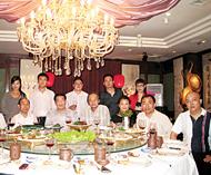 歌舞剧《山歌情》将在北京献演泰中艺联领导蔡义批邵忠田王慧协助筹备工作
