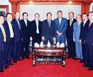 泰驻广州总领事披莎努访问中总