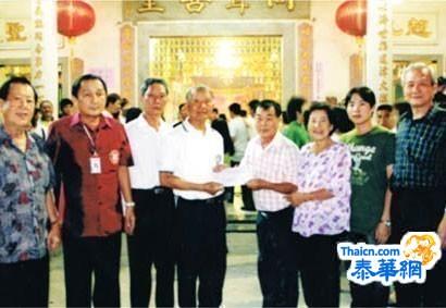 同声医院扩建工程广获支持林亚协卢美香捐建两间病房马绍琳副理事长及周学雄杨光亮等接领赞助款