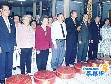 义和念佛社隆重举行春祭祀典吴坤炎理事长领导理事社友举行祭祀仪式