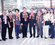曼谷惠州会馆组团出席客商大会徐祥财理事长率领十人代表团启程前往梅州